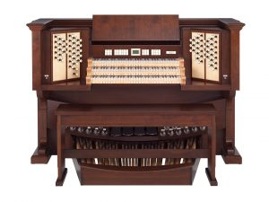 Monarke custom organs are available with 3, 4 and 5 manual consoles.